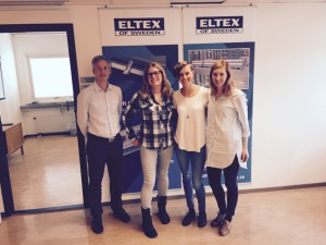 Eltex 1 K-G Pettersson, Heléne Karlsson, Ellen Almestål, Marielle Krus
